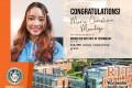 Congratulations to our Senior student, Ma Christine Mendoza