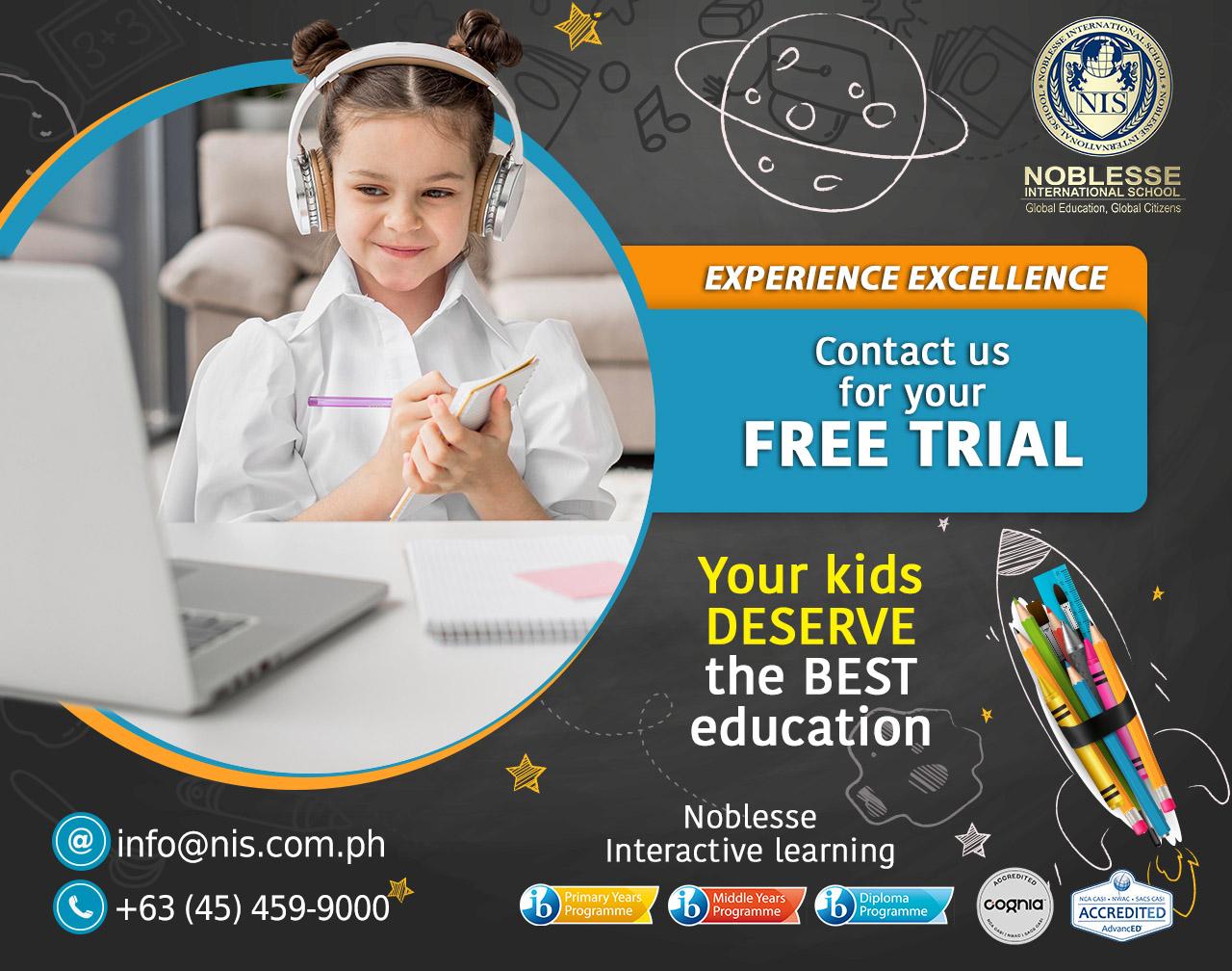free trial online V4